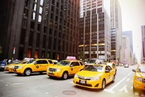 タクシーでの英会話
