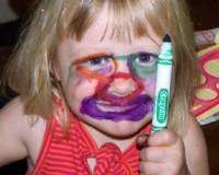 英語脳メルマガ 第02448号 Today, I took a nap on the couch. Apparently, my wife decided to put makeup all over my face の意味は?
