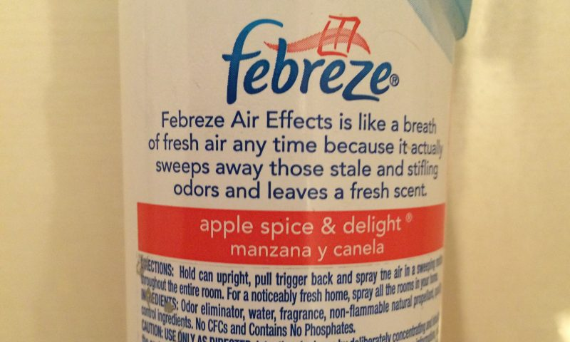 英語脳メルマガ 第02456号 Febreze Air Effects is like a breath of fresh air の意味は?