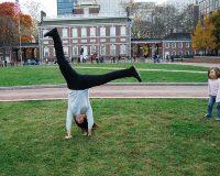 英語脳メルマガ 第02834号 Today, I pulled a muscle at work doing a cartwheel の意味は?