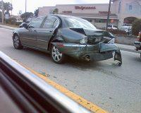 英語脳メルマガ 第02883号 Today, my car was rear-ended and totaled. Last year, during the same month の意味は?