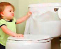 英語脳メルマガ 第02932号 Today, my 3-year-old missed the toilet. In the time it took me to get paper towel の意味は?