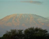 英語脳メルマガ 第03098号 Even last year, I ended up hiking up Mt. Kilimanjaro, the highest mountain in Africa の意味は?