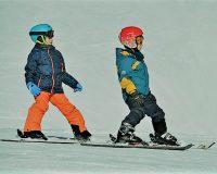 英語脳メルマガ 第03261号 Today, after months of begging, I finally convinced my friends to go skiing with me の意味は?