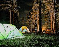 英語脳メルマガ 第03310号 Today, on my and my wife's very first camping holiday, someone cut a hole in の意味は?