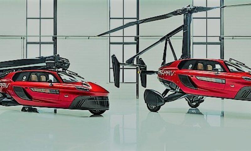 英語脳メルマガ 第03454号 Japan is making a push to develop flying cars. の意味は?