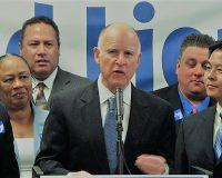 英語脳メルマガ 第03468号 California Gov. Jerry Brown signed landmark legislation Monday. の意味は?
