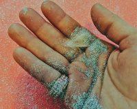 英語脳メルマガ 第03751号 Today, I sparkled because of this glitter bar my mother got me from Lush. の意味は?